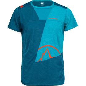 La Sportiva Workout T-shirt Herr lake/tropic blue